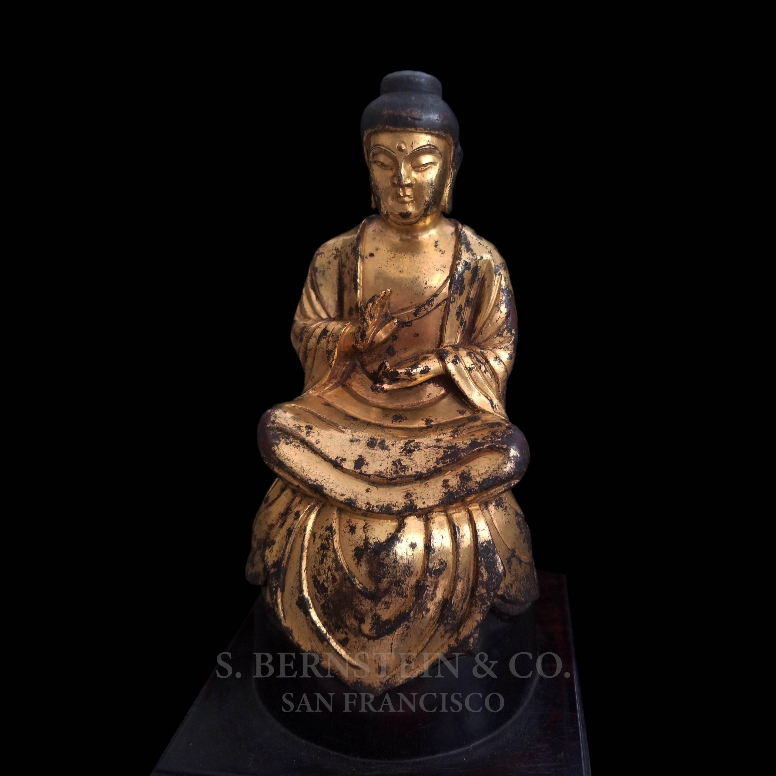 Gilt Bronze Figure of the Buddha